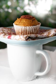Gluten-Free Goddess Pumpkin Muffins- perfect with chai tea ...