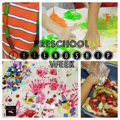 Preschool Friendship week activities & fun to promote friendship, sharing, cooperation, getting to know each other & more week activ, fruit salads, book, preschool friendship theme, friendship preschool theme, friendship week, friendship theme for preschool, diva, preschools