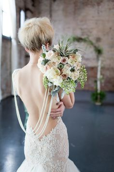 Galia Lahav wedding dress | Melissa Kruse Photography and Diana Tsao Events | see more on: http://burnettsboards.com/2014/08/bubble-wedding/