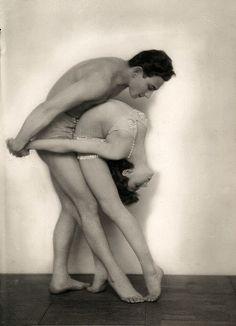 Martin Badekow, Dancers Berinoff and Angelina, 1920s