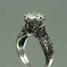spirally vintage ring