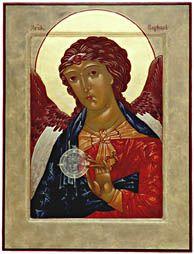 angel, icon orthodox, book