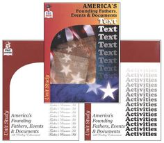 America's Founding Fathers, Events & Documents Complete Unit Kit | Main photo (Cover)