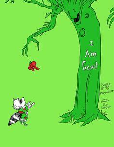 geek, nerd, galaxies, hero, rocket, bow ties, groot, marvel comics, trees