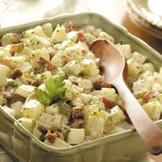 Country Potato Salad Recipe from Taste of Home -- shared by Ramona Hook Wysong of Barlow, Kentucky