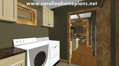 Laundry/mud room with easy access from kitchen and garage - SG-981-AMS.