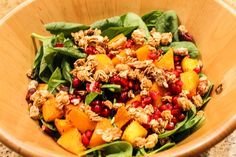 Granola Fall Salad