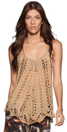 Crochet Boho style.