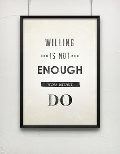 you must do! #quotes #typography
