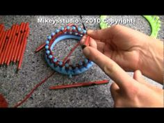 How To Make A Styler Pen For Your Knifty Knitter - YouTube