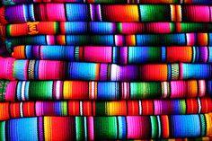 Beautiful Guatemalan fabrics.