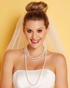 "72"" Single-Strand Pearl Necklace #CCWedding"