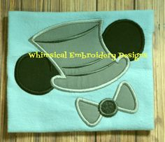 Applique Mouse Groom Machine Embroidery by WhimsicalEmbroidery, $4.00