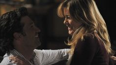 Derek moves in with Meredith