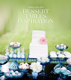 If you want to make sure your guests have plenty of options, there's nothing quite like a dessert table. Check out out gallery of over 100 dessert tables.