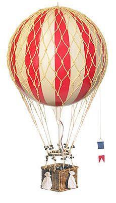 model hot air ballon