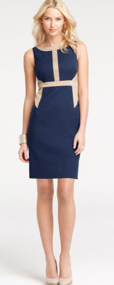 Cute dress for the first day of work. offic outfit, dress, work outfits