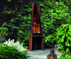 Rais Gizeh: gorgeous wood burning outdoor barbeque or fireplace. Coming to Greenworks in Vancouver soon.