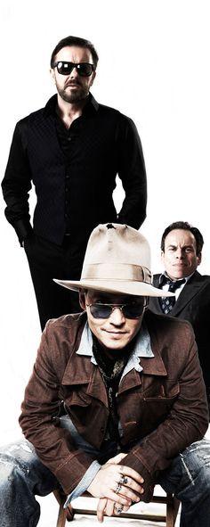 Life's Too Short Warwick Davis, Ricky Gervais and Johnny Depp