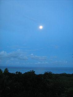 Moon over Montemeru