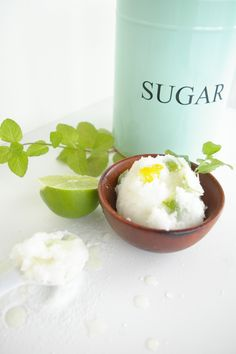 DIY Citrus Sugar Scrub