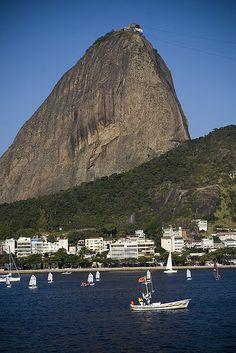 The Sugarloaf Mountain, Rio de Janeiro, Brazil