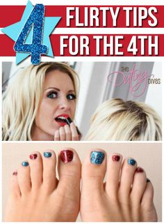 4 beauty essentials for a fun-filled and flirty 4th of July weekend. www.TheDatingDivas.com #4thofjuly #beauty #fashion