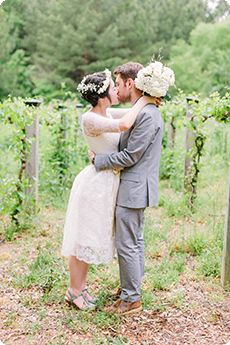 Our buddy Haley Sheffield is a Georgia-based wedding photographer and a total pro at capturing the perfect kiss on camera. Check out her guide above!