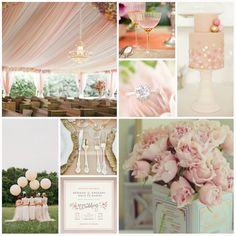 {Blush Wedding Inspiration} Looking for a soft and elegant color scheme for your summer wedding? This romantic blush color palette is one of the most talked about trends for 2013. Pair with soft hues of mint, gray, violet or even a touch of metallic for a perfectly posh affair. Here are several ways that blush can be included into all of your weddings details from the bridesmaids dresses to the floral arrangements on the tables. Blushes Wedding Details, Wedding Inspiration, Blush Weddings, Summer Wedding, Blushes E.L.F., Blushes Colors Palettes, Blushw Weddingideas, Wedding Colors, Colors Schemes