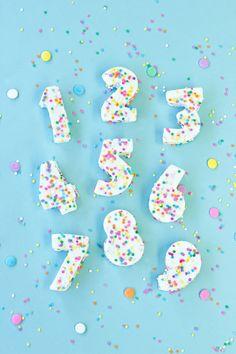 cake pop, confetti marshmallow, marshmallows, marshmallow number, diy confetti