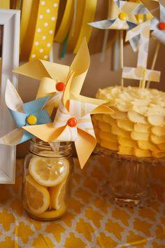sunshine pinwheels and smash cake, love