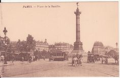 Vintage Paris post card