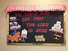 Sunday School Bakery Bulletin Board