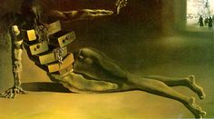 """""""It has always been the things I found in the drawers that were locked and took great pains to open, that have fed my soul.""""-JN  Anthropomorphic Cabinet. -Salvador Dali"""