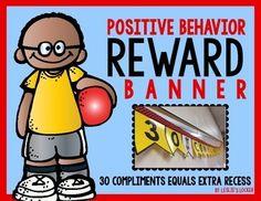reward banner, behavior reward