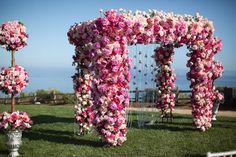 Mind-Blowing Wedding Ceremony Decor | bellethemagazine.com