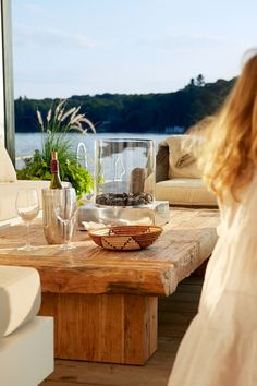 wonderful place to sit and have a glass of wine and watch the kids swim, fish and play! Lake House | Wine | Views
