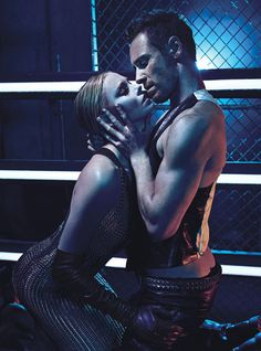 W Magazine August 2012 with Charlize Theron & Michael Fassbender
