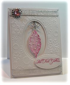 Flourishes stamps and Spellbinders Dies