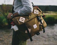 mountain bag, topo design