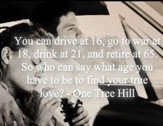 True Love #OneTreeHill #Naley