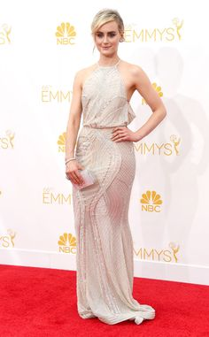 Taylor Schilling from 2014 Emmys: Red Carpet Arrivals   E! Online