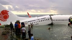 Indonesian Airline Crash – Boeing 737 Accident Into Sea At Island Of Bali