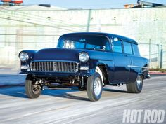 Randy Mannings 1955 Chevy Gasser Wagon