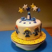 Cheerleader Cake 10
