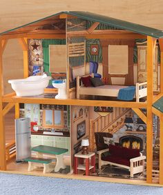 Take a look at this Campfire Cabin Set by KidKraft on #zulily today!