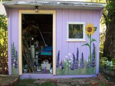 garden mural ideas | Ambler Garden Shed - Mural Album in Ambler, Pennsylvania