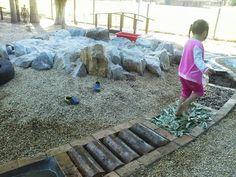 "Fabulous sensory path at Stuarts Point Preschool ("",) idea, garden paths, preschool playground, sensory path, sensori garden, outdoor play, sensori trail, sensori path, kid"