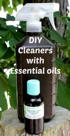 DIY Cleaners Non Toxic Household Cleaner Recipes You can Make at Home with Essential Oils