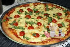 Receita de Pizza - Massa Pan - Teretetê na Cozinha